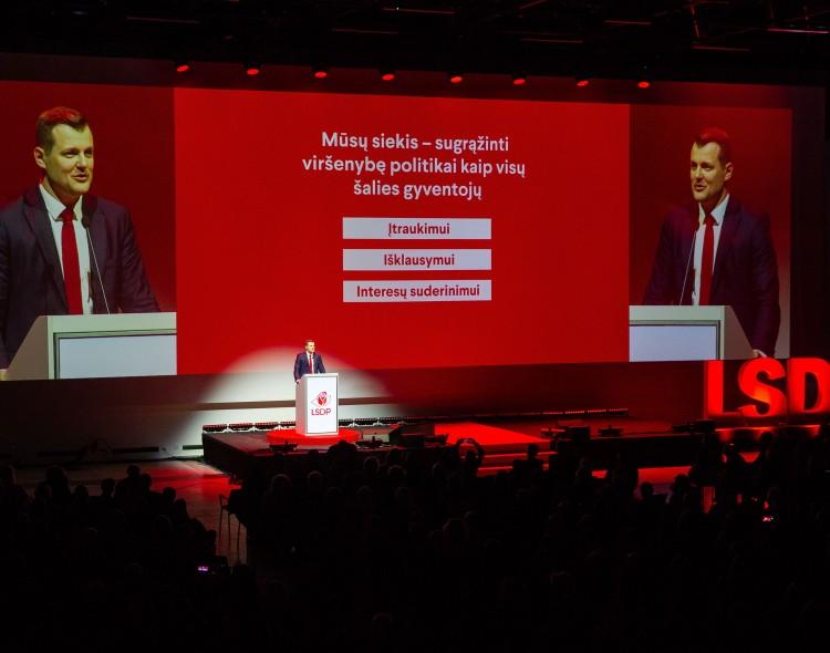 Gintautas Paluckas: mus mato kaip grėsmę