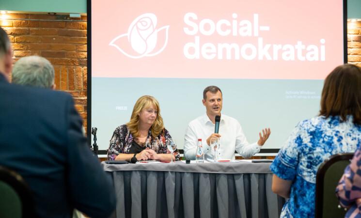 Socialdemokratai pristatė Seimo rinkimų programą: pagrindinis tikslas – visuotinis užimtumas